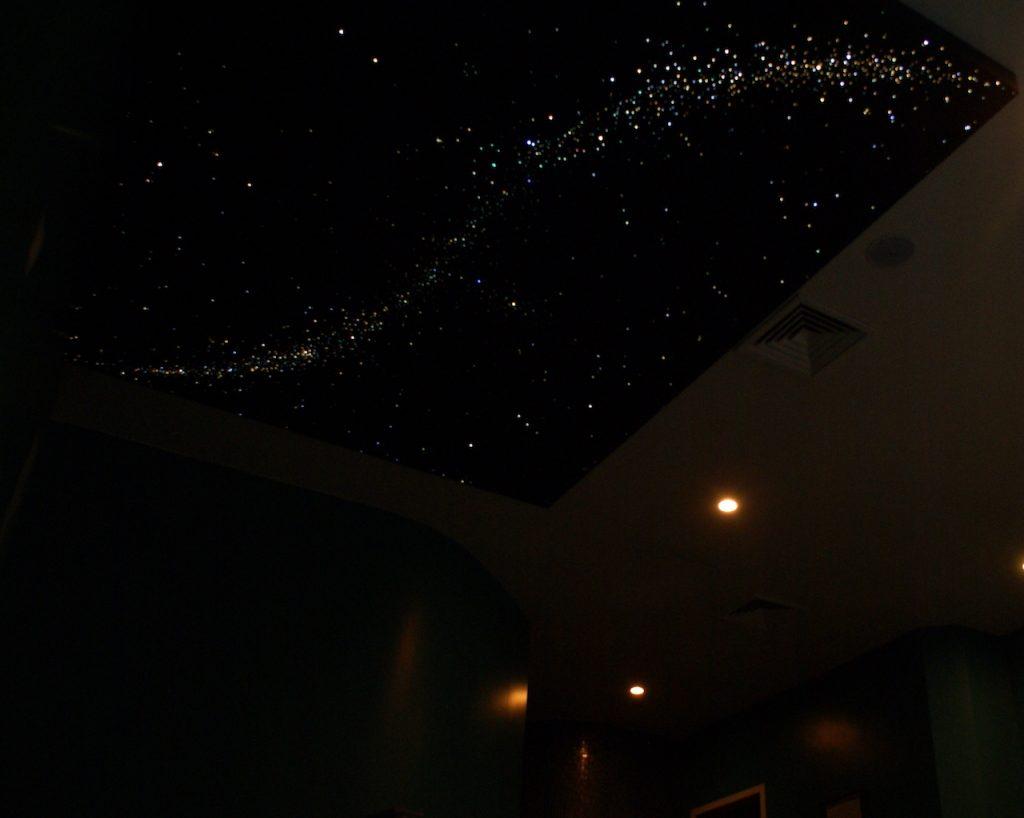 sterrenplafond verlichting led glasvezel mycosmos