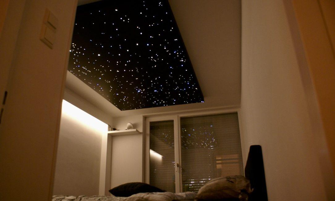 Sternenhimmel Schlafzimmer Decke LED fazern optisch  MyCosmos