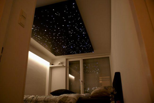 sterrenhemel plafond led verlichting slaapkamer badkamer mycosmos