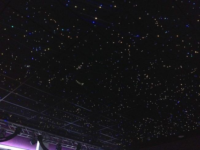 Plafond ciel toil chambre led fibre optique mycosmos - Ciel etoile led ...