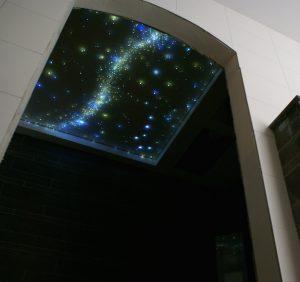 Ciel étoilé Fibre Optic Plafond led photos image salle de bain voies lactées etoiler plafond dans pour