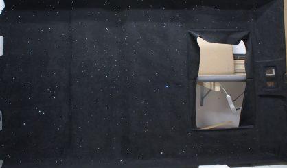 Sterrenhemel auto plafond verlichting glasvezel led technologie