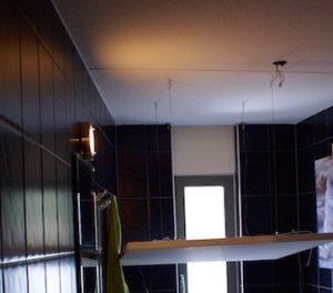 Sterrenhemel verlichting plafond badkamer LED glasvezel sfeer inspiratie luxe interieur ideen