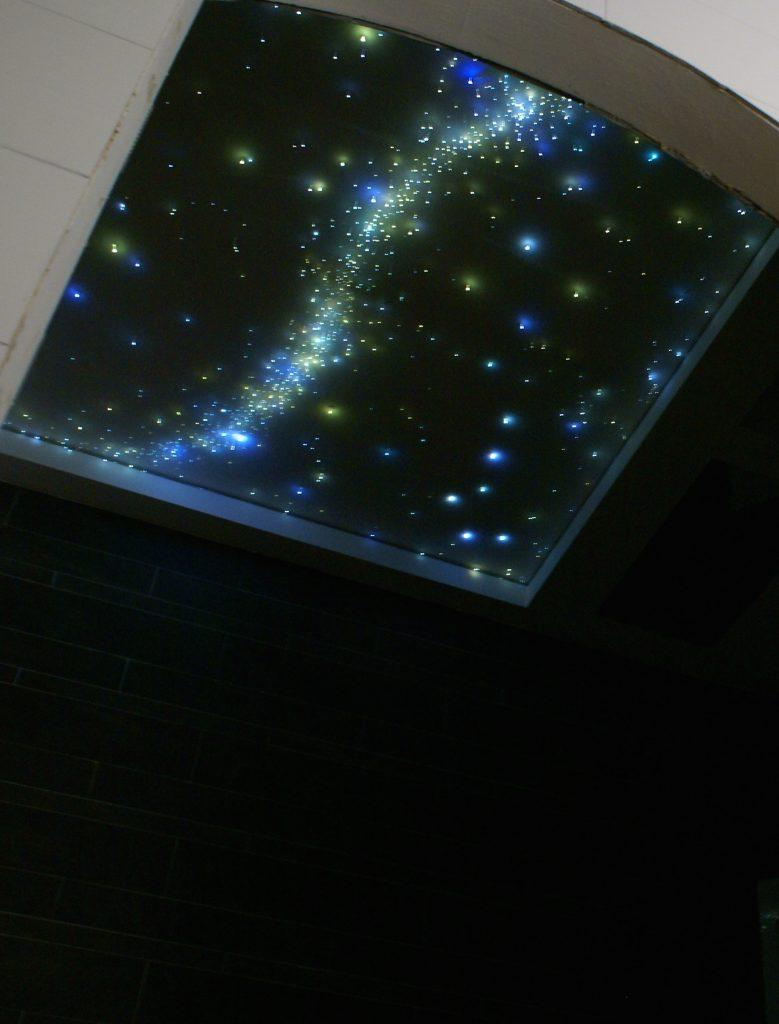 Ciel étoilé Fibre Optique Plafond led salle de bain voies lactées etoiler plafond dans pour suspendu galaxy mycosmos