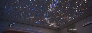 Ciel étoilé ciel etoile Fibre Optic Plafond led photos image chambre salle de bain sauna spa voies lactées