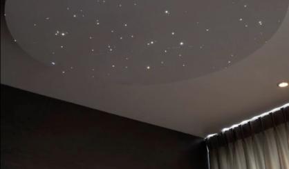 Sternenhimmel led kaufen fazern abgehängte Decke optisch luxus fur mit licht lampe sternschnuppe mycosmos