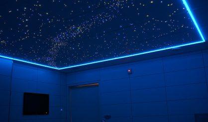 Sterrenhemel Plafond Verlichting LED glasvezel badkamer Sauna ledstrips luxe mooie design spa wellness resort