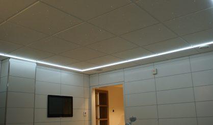 plafond Ciel étoilé Fibre Optic Plafond led photos image chambre salle de bain sauna spa voie lactée mycosmos