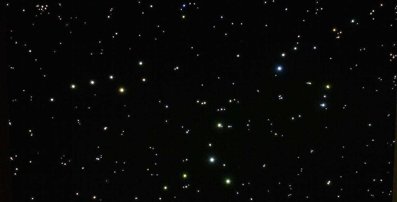toilet ideeen plafondplaten led verlichting plafond sterrenhemel sterren sterrenbeeld