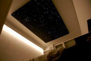 Berühmt LED Sternenhimmel Beleuchtung glasfaser Bad kleben| MyCosmos RD01
