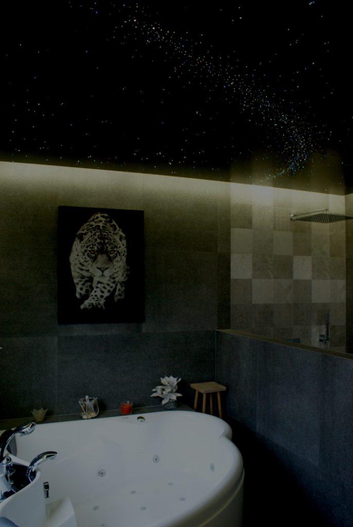 badezimmer deckenleuchten sternenhimmel decke milchstraße led runde sternschnuppe kaufen fazern optisch fur mit licht lampe funkeln luxus mycosmos