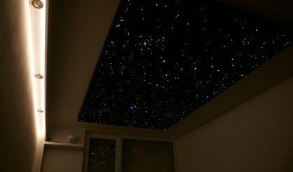 ciel étoilé chambre plafond led fibre optique etoiler pour dans en mycosmos optic etoile