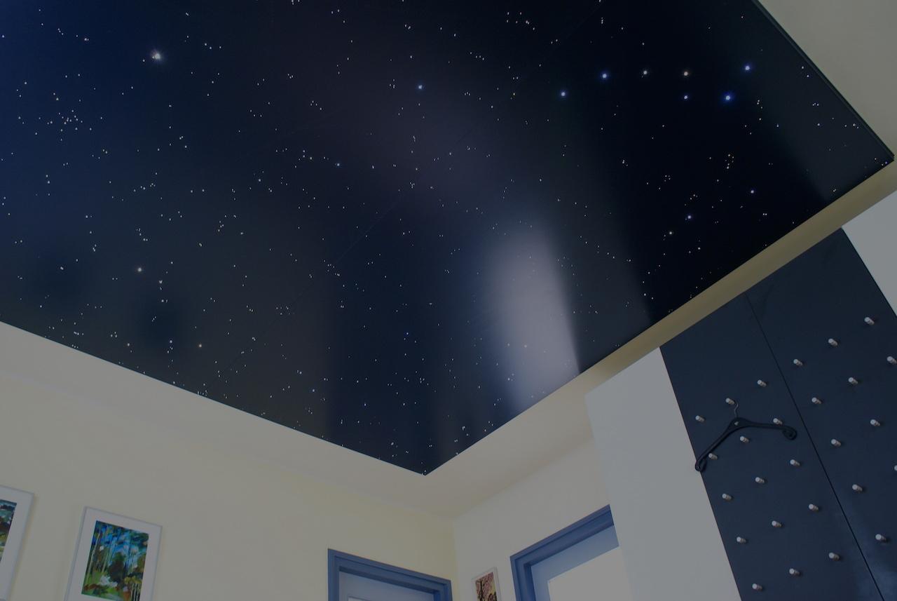 Ciel toil led plafond chambre etoile mycosmos - Plafond chambre etoile ...