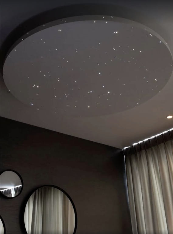 Floating Star Ceilings