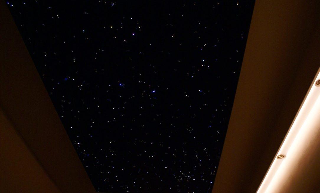 plafond ciel étoilé chambre led fibre optique etoiler pour dans en mycosmos optic etoile