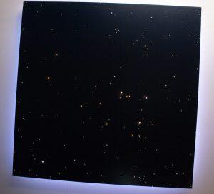 sternenhimmel im schlafzimmer leuchte led decke glasfaser licht himmel fiberglas shop wohnzimmer ideen design art sternschuppe
