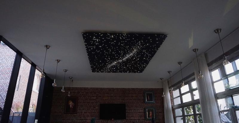 led ciel étoilé plafond ciel etoile etoilé fibre optique chambre pour decoration lumineuse faux lumineux mycosmos