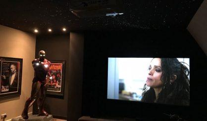 ciel étoilé ciel etoile etoilé plafond fibre optic led home theater cinema plafonnier chambre ciel étoile mycosmos