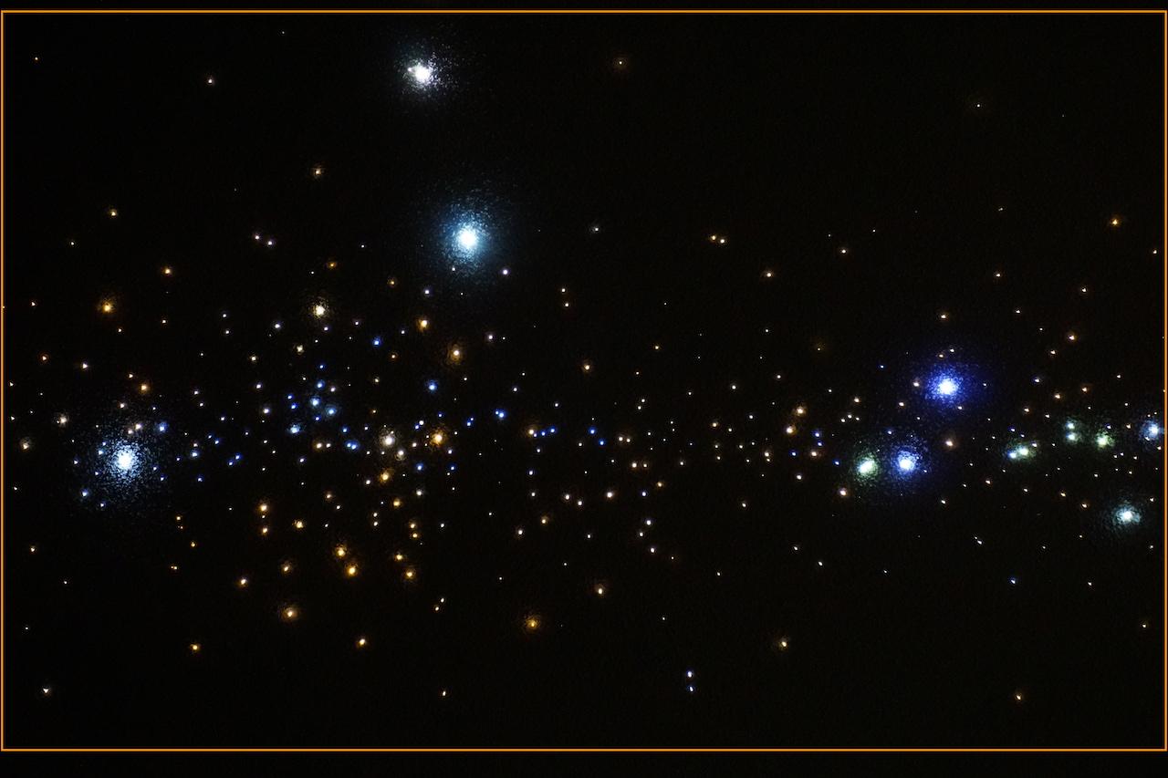 mycosmos 2 sterrenhemel led verlichting plafond glasvezel melkweg slaapkamer onder de sterren hemel luxe design