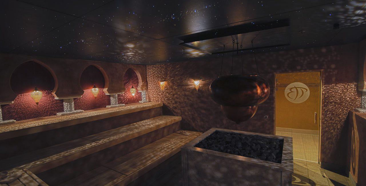 Sauna Plafond étoilée