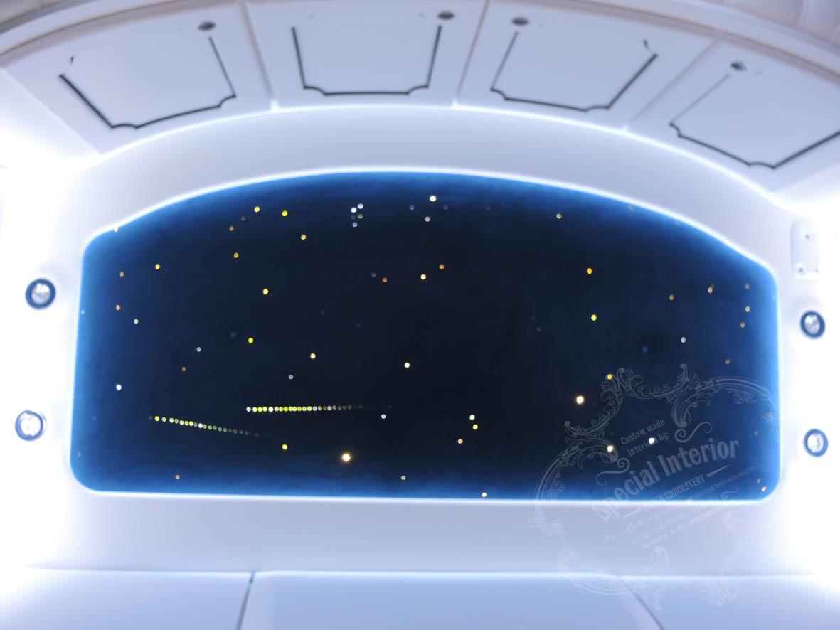 sterrenhemel plafond truck verlichting led glasvezel verlaagdster hemel galaxy luxe