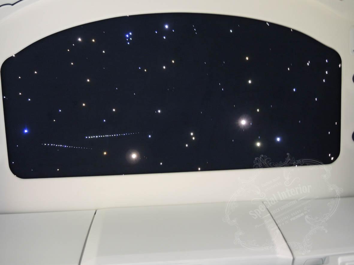 sterrenhemel truck plafond verlichting led glasvezel verlaagdster hemel galaxy luxe